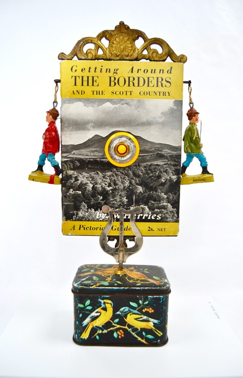 nacho bolea libro artista Pilgrim o Robert Walser by the Borders frente